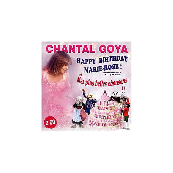 Cd Happy Birthday Marie Rose Mes Plus Belles Chansons