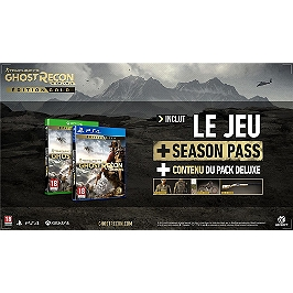 Ghost recon : wildlands - édition gold (PS4)