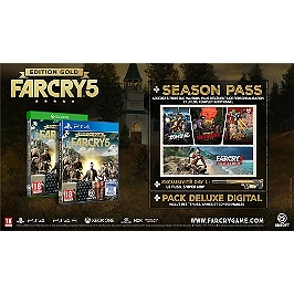 Far cry 5 - édition gold (PS4)