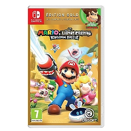 Mario + the lapins crétins kingdom battle - Gold (SWITCH)