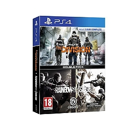 Pack 2 jeux : rainbow six siege & the division (PS4)