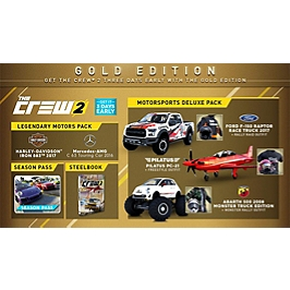 The Crew 2 - édition gold (XBOXONE)