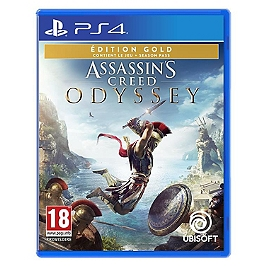Assassin's creed odyssey - édition gold (PS4)