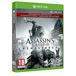 Assassin's creed 3 + assassin's creed liberation remaster (XBOXONE)