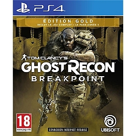 Ghost recon breakpoint - édition gold (PS4)