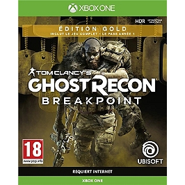 Ghost recon breakpoint - édition gold (XBOXONE)