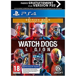 Watch Dogs Legion - édition gold (PS4)