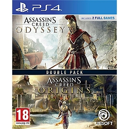 Compilation assassin's creed origins + assassin's creed odyssey (PS4)