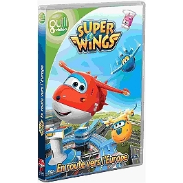 Superwings, saison 1, vol. 1 : en route pour l'Europe, Dvd
