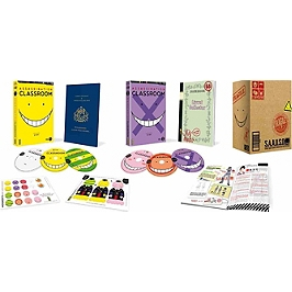 Coffret assassination classroom, saison 1, Blu-ray