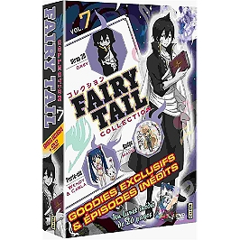Coffret fairy tail collection, vol. 7, Dvd