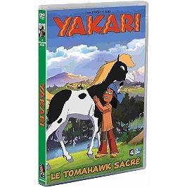 Yakari, saison 4, vol. 3 : le tomahawk sacré, Dvd