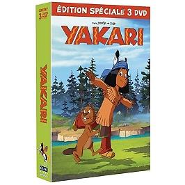 Coffret Yakari, saison 4, vol. 1 à 3, Dvd