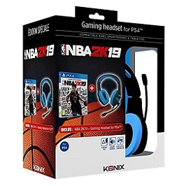 Konix bundle ps400 + nba 2k19 (PS4)