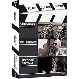 Easy Rider ; taxi driver ; midnight express, Dvd
