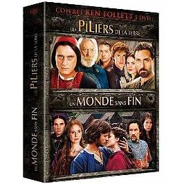 Coffret Ken Follett : les piliers de la Terre ; un monde sans fin, Dvd