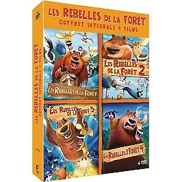 Coffret les rebelles de la forêt 4 films, Dvd