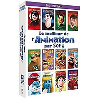 Coffret le meilleur de l'animation par Sony 12 films en Dvd