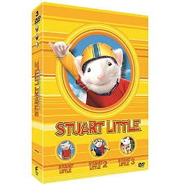 Coffret Stuart Little 3 films : Stuart Little 1 ; Stuart Little 2 ; Stuart Little 3, en route pour l'aventure, Dvd