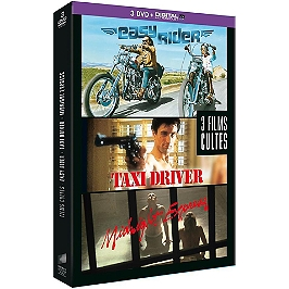 Coffret culte 3 films : easy rider ; taxi driver ; midnight express, Dvd
