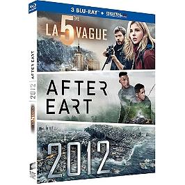 Coffret : la cinquième vague ; after Earth ; 2012, Blu-ray