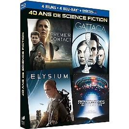 Coffret le meilleur de la science-fiction 4 films, Blu-ray