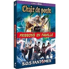 Coffret frissons en famille 2 films : chair de poule ; S.O.S fantômes, Dvd