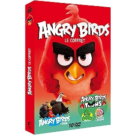 Coffret angry birds, Dvd