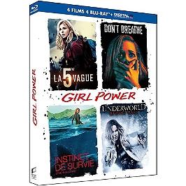 Coffret girl power 4 films, Blu-ray