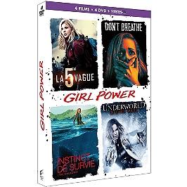 Coffret girl power 4 films, Dvd