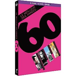 Coffret le meilleur des années 60 4 films, Dvd
