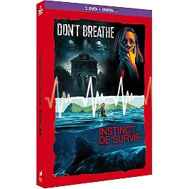 Coffret 2 films : don't breathe ; instinct de survie, Dvd