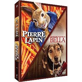 Coffret jeunesse 2 films : Pierre Lapin ; l'incroyable aventure de Bella, Dvd