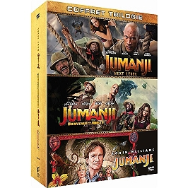 Jumanji trilogie : Jumanji ; bienvenue dans la jungle ; next level, Dvd