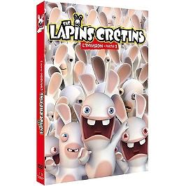 Coffret les lapins crétins : invasion, partie 1, Dvd