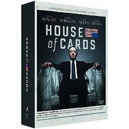 Coffret house of cards, saison 1, Dvd