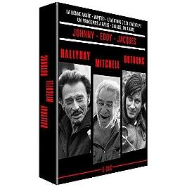 Coffret Hallyday, Dutronc, Mitchell 5 films, Dvd