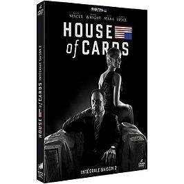 Coffret house of cards, saison 2, Dvd