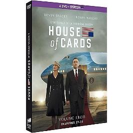 Coffret house of cards, saison 3, Dvd