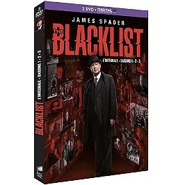 Coffret the blacklist, saisons 1 à 3, Dvd