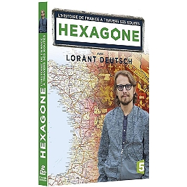 Coffret hexagone, l'histoire de la France à travers ses routes, Dvd