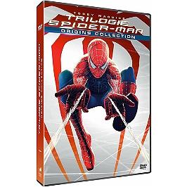 Coffret trilogie Spider-Man origins, Dvd