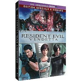 Resident evil vendetta, Dvd