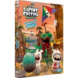 Les lapins crétins invasion, saison 3, vol. 3, Dvd