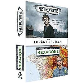 Coffret Lorant Deutsch 2 documentaires : hexagone ; métronome, Dvd