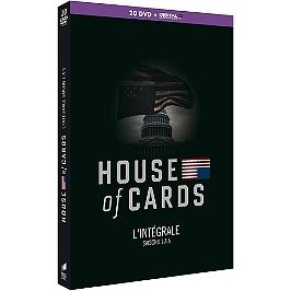 Coffret house of cards, saisons 1 à 5, Dvd