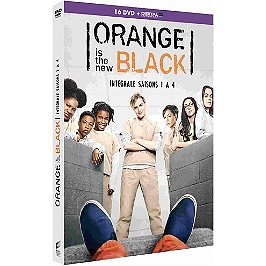 Coffret orange is the new black, saisons 1 à 4, Dvd