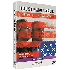 Coffret house of cards US, saison 5, Dvd