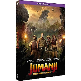 Jumanji 2 : bienvenue dans la jungle, Dvd