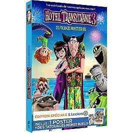 Hôtel Transylvanie 3 : des vacances monstrueuses, édition spéciale E. Leclerc, inclus un poster et des tatouages, Édition spéciale E.Leclerc, Dvd